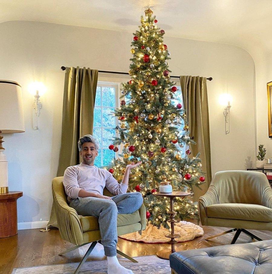Tan France Christmas Tree