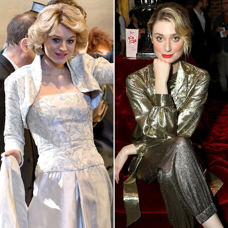 Emma Corrin/Elizabeth Debicki The Crown Cast Through Years Photos