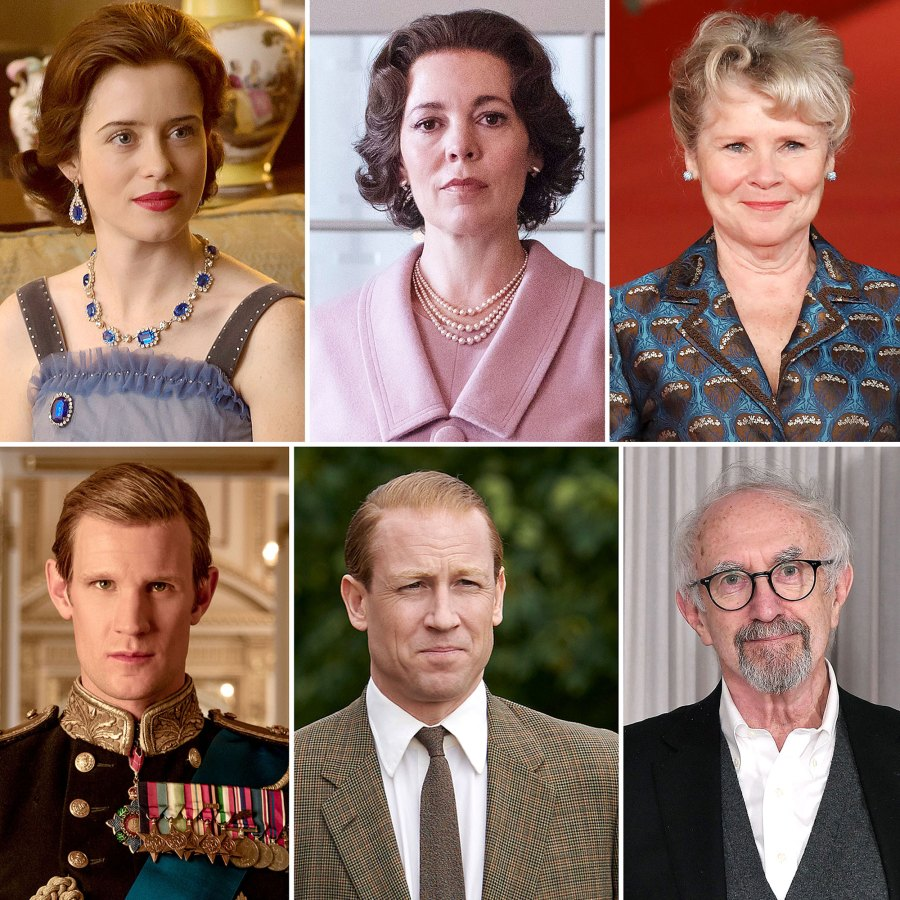 The Crown Cast Through Years Photos