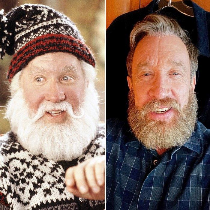 Tim Allen canaliza su icónico personaje de Papá Noel con una impresionante nueva barba