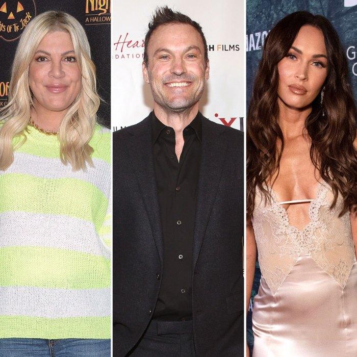 Tori Spelling Praises Brian Austin Green Parenting After Megan Fox Drama Beverly Hills 90210