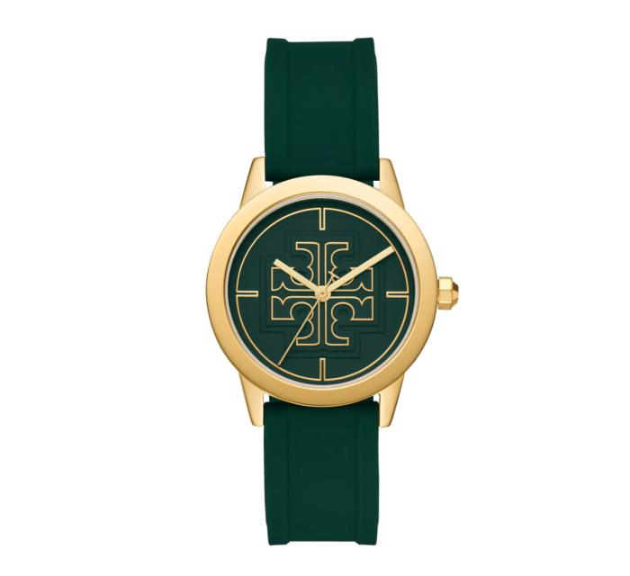 Tory Burch Gigi Silicone Strap Watch, 36mm
