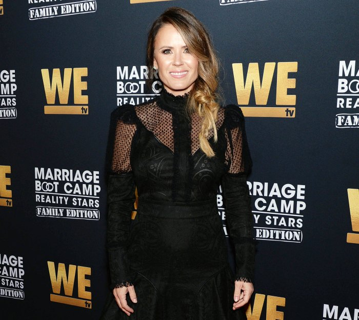 Trista Sutter at the WE tv Marriage Boot Camp: Family Edition Premiere in 2019 Trista Sutter Claims Producers Pre-Planned Story Lines for Televised Wedding Special