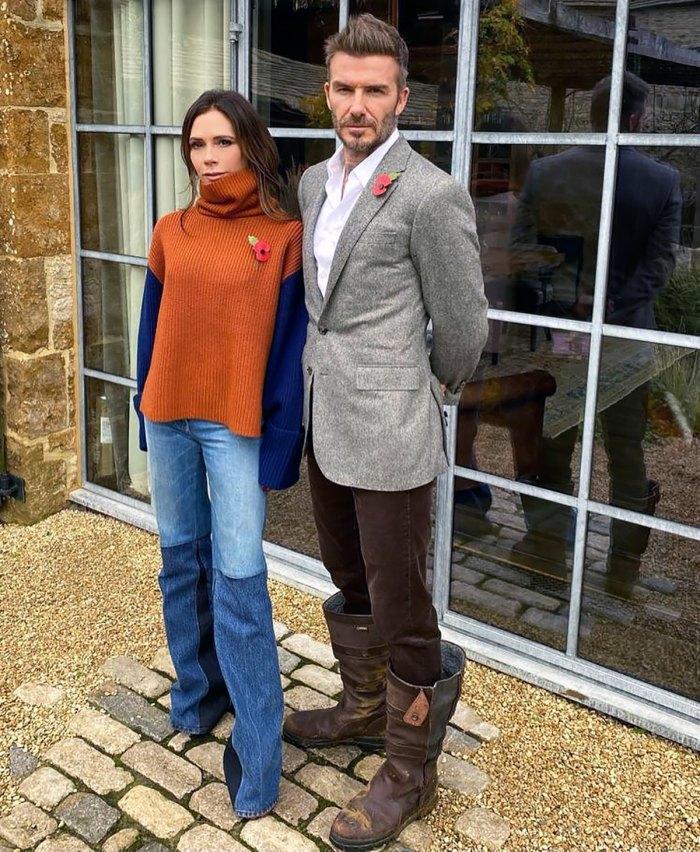 Victoria Beckham trollea hilarantemente a David Beckham sobre sus zapatos