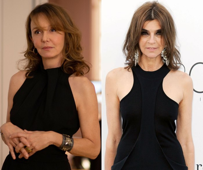 Who Wore It Better? Carine Roitfeld or Sylvie from 'Emily in Paris'