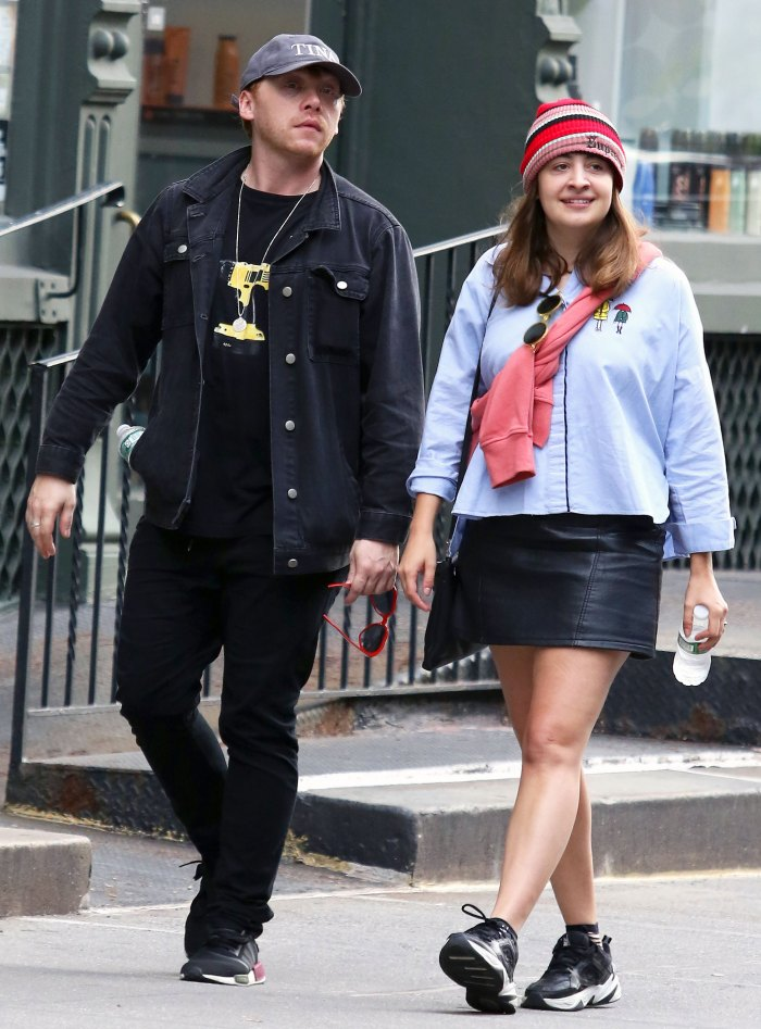 Welcome Wednesday Rupert Grint Shares 1st Photo His Daughter