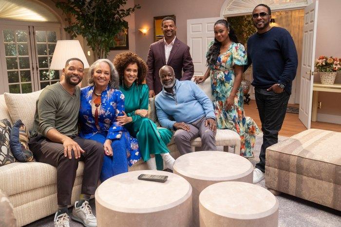 Will Smith y Janet Hubert ponen fin a su enemistad de décadas durante el elenco de Fresh Prince of Bel-Air Reunion
