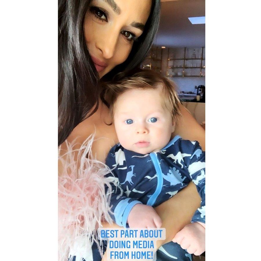 Working Mom Nikki Bella Sweetest Pics With Son Matteo