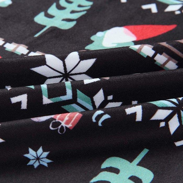NEWCOSPLAY Pantalones anchos palazzo elásticos cómodos con cordón