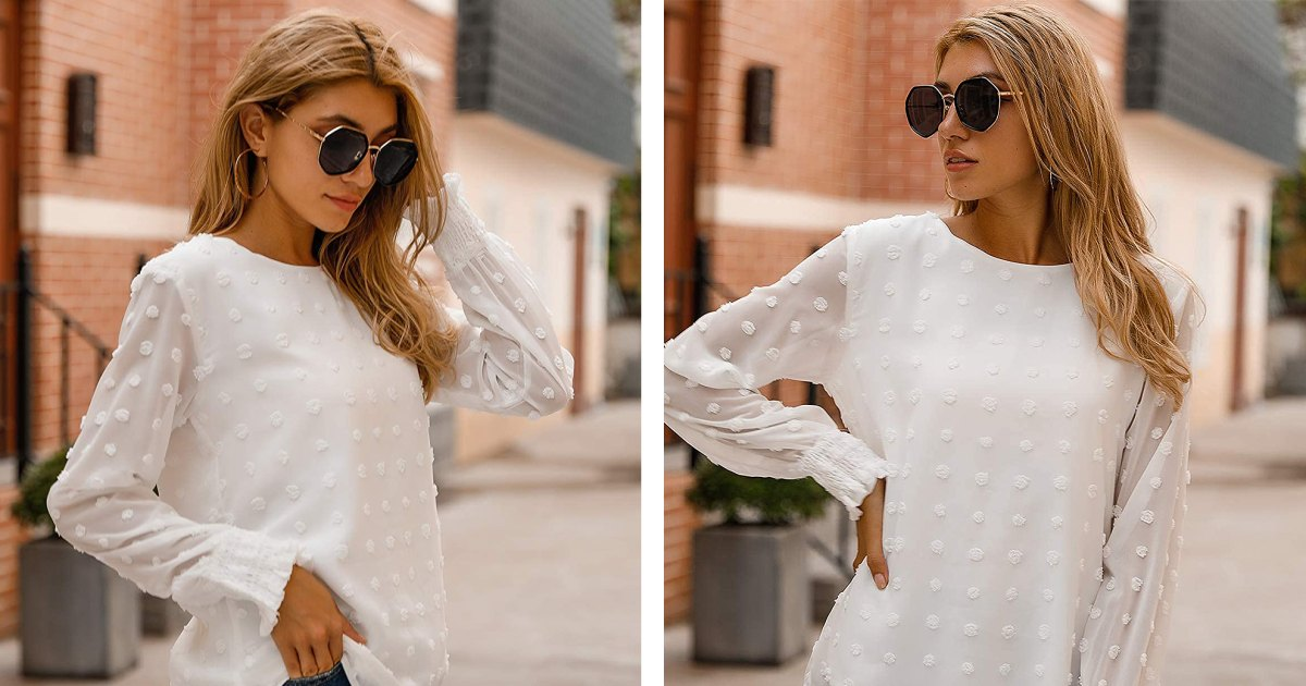 This Chiffon Blouse Puts an Elegant Twist on Typical Holiday Fashion.jpg
