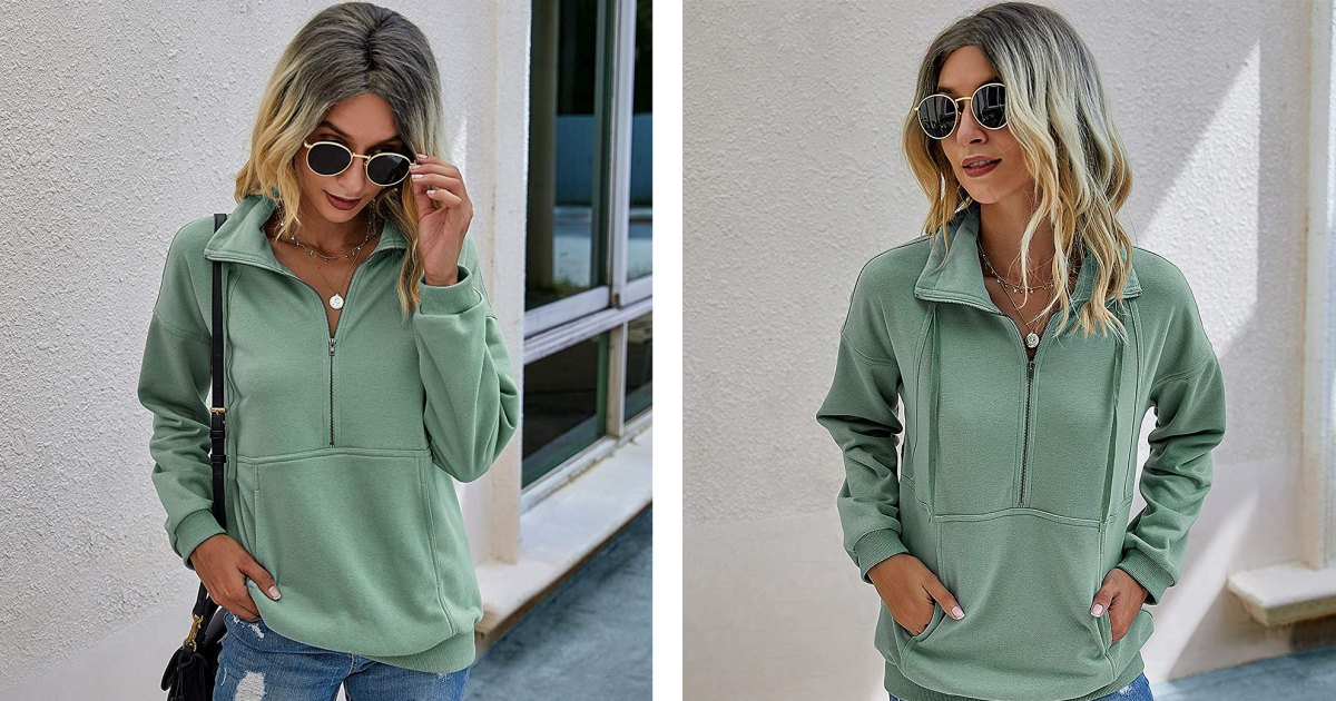 This Half-Zip Sweatshirt Is the Quickest Way to a Cute Outfit in the Cold.jpg