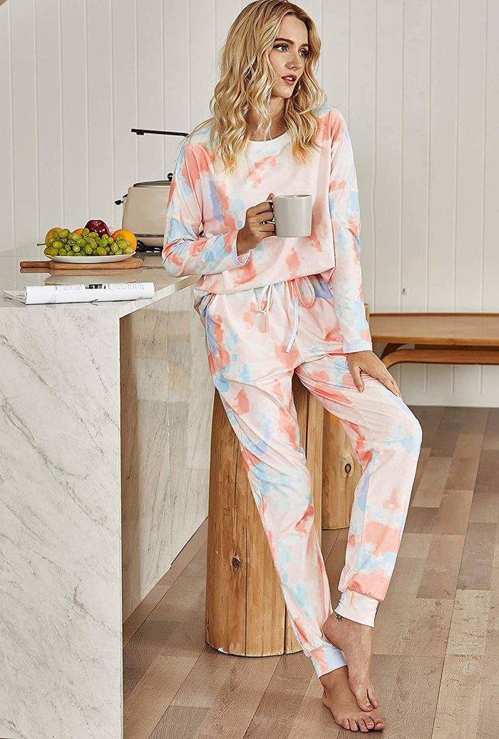 Pijama de jogger de dos piezas AKEWEI