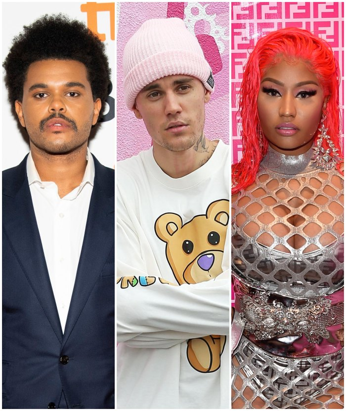 The Weekend, Justin Bieber, Nicki Minaj Slam the Grammy después de anunciadas las nominaciones de 2020