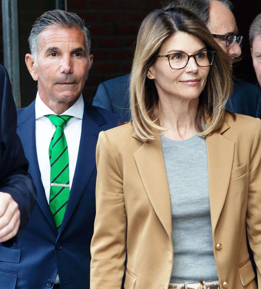 Mossimo Giannulli and Lori Loughlin Leaving Court Olivia Jade Gianulli Apologizes and Explains White Privilege in First Interview Since College Scandal