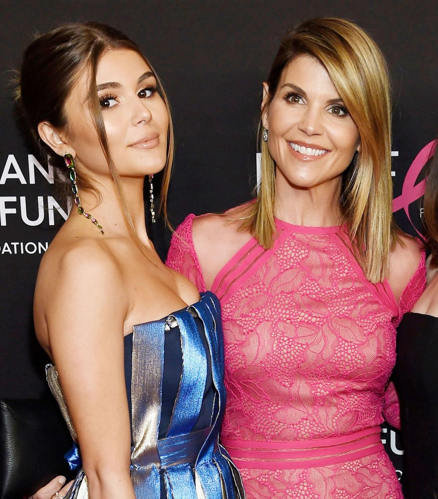 Olivia Jade Giannulli and Lori Loughlin at an event in 2019 Olivia Jade Gianulli Apologizes and Explains White Privilege in First Interview Since College Scandal