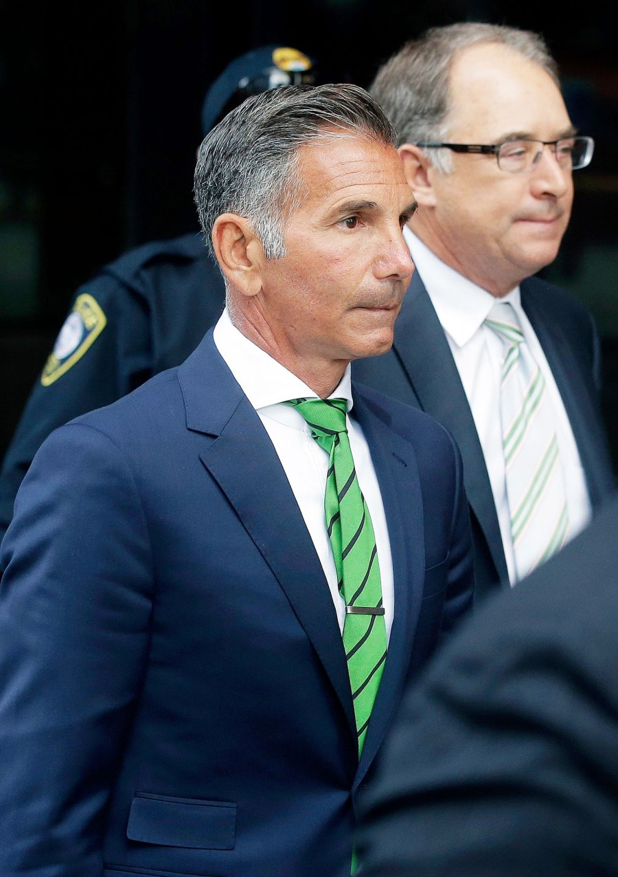 Mossimo Giannulli Leaving Court Olivia Jade Gianulli Apologizes and Explains White Privilege in First Interview Since College Scandal