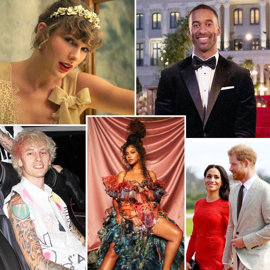 10 Good Things That Happened 2020 Taylor Swift Matt James Prince Harry Meghan Markle Beyonce Machine Gun Kelly