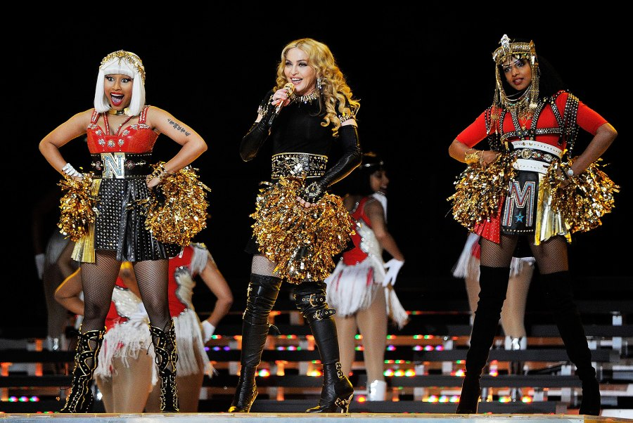 5 2012 Super Bowl performance with Madonna and M.I.A.