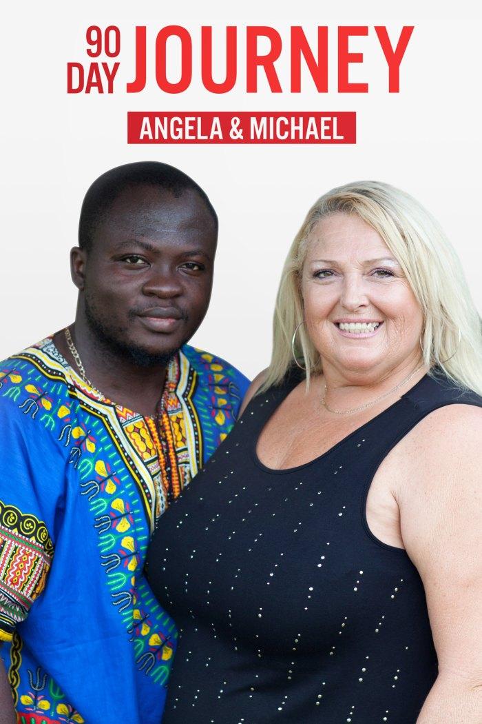 Angela Michael 90 Day Journey muestra cada momento historias de parejas de novios de 90 días