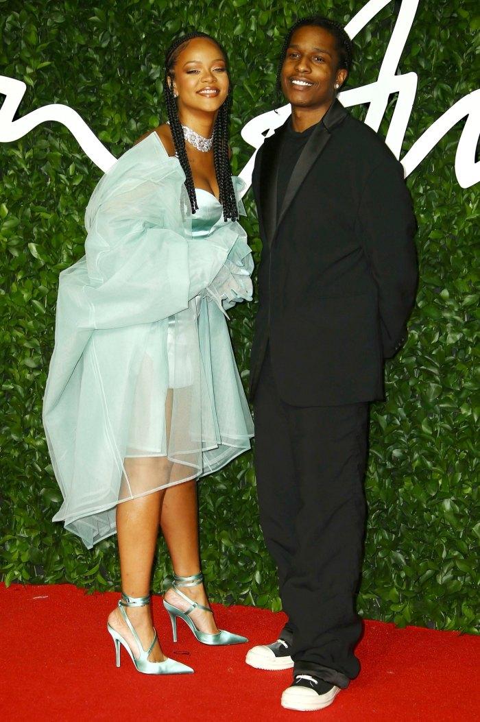 ASAP Rocky estaba en Rihanna años antes de que comenzaran a salir
