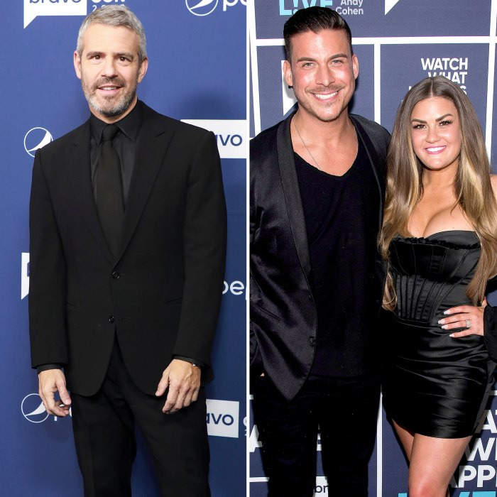Andy Cohen Speaks Out About Jax Taylor and Brittany Cartwright's Vanderpump Rules Exit