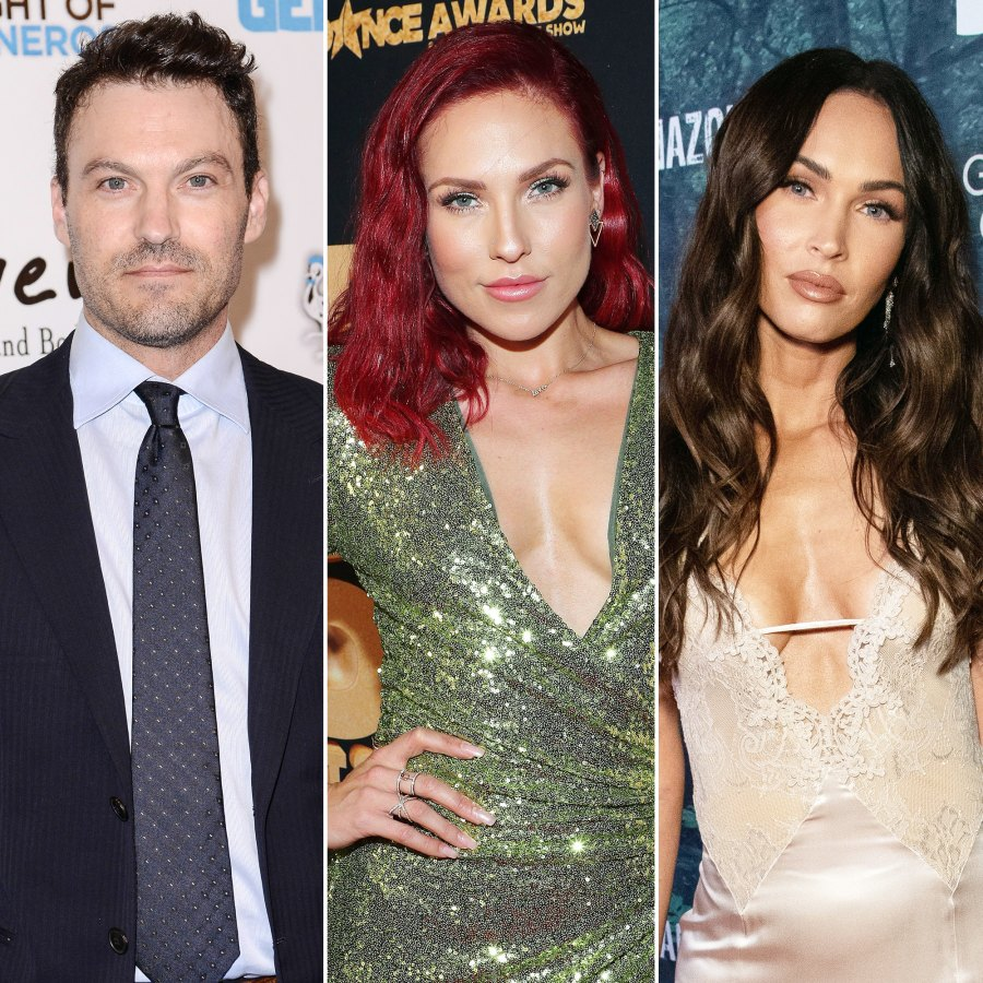 Brian Austin Green and Sharna Burgess Vacation at the Resort He Married Megan Fox