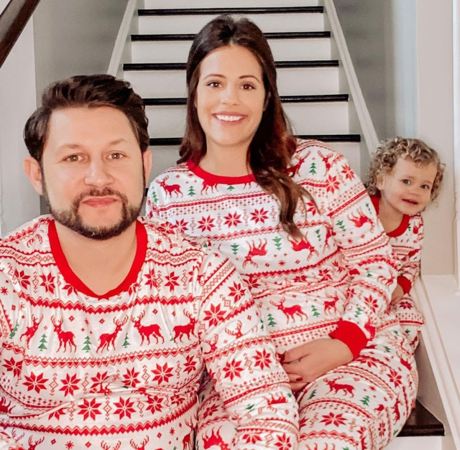 Ashley Petta Married at First Sight Celeb Parents Wear Matching PJs With Kids