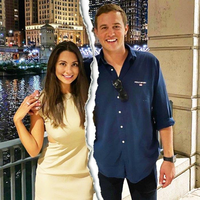 Bachelors Peter Weber and Kelley Flanagan Split