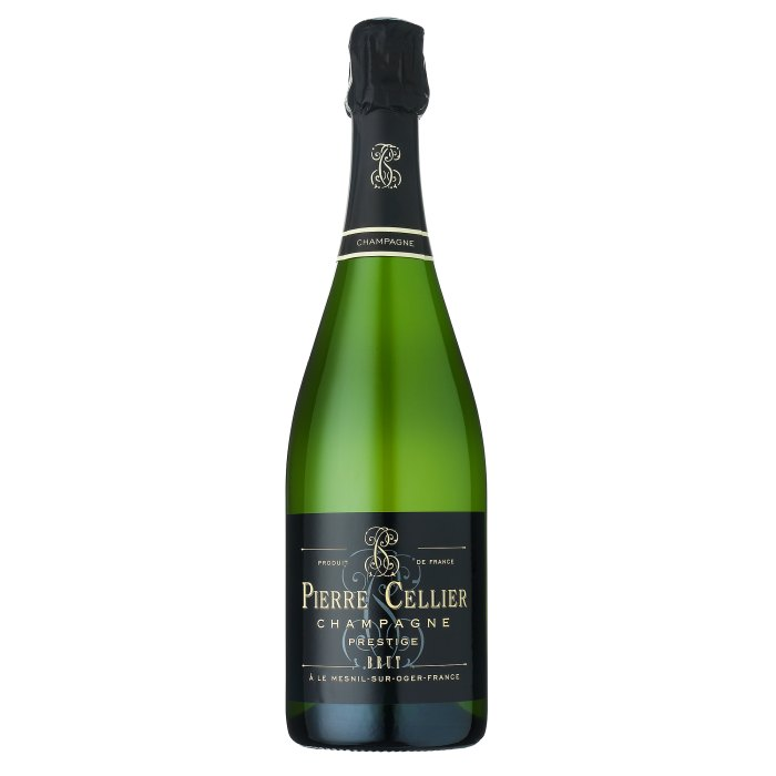 Champagne by Pierre Cellier Brut Prestige NV Best Champagne to Drink on New Years Eve According to Sommelier Allegra Angelo
