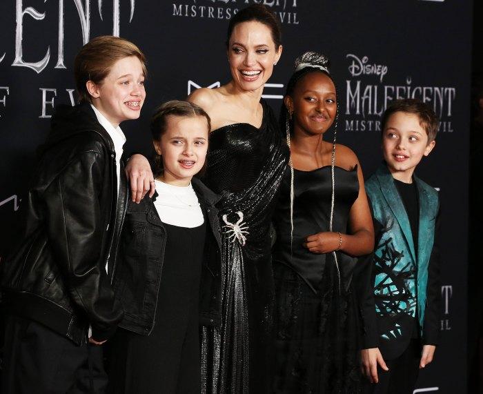 Brad Pitt pasa la Navidad con los gemelos Shiloh en medio del drama 1 de Angelina Jolie