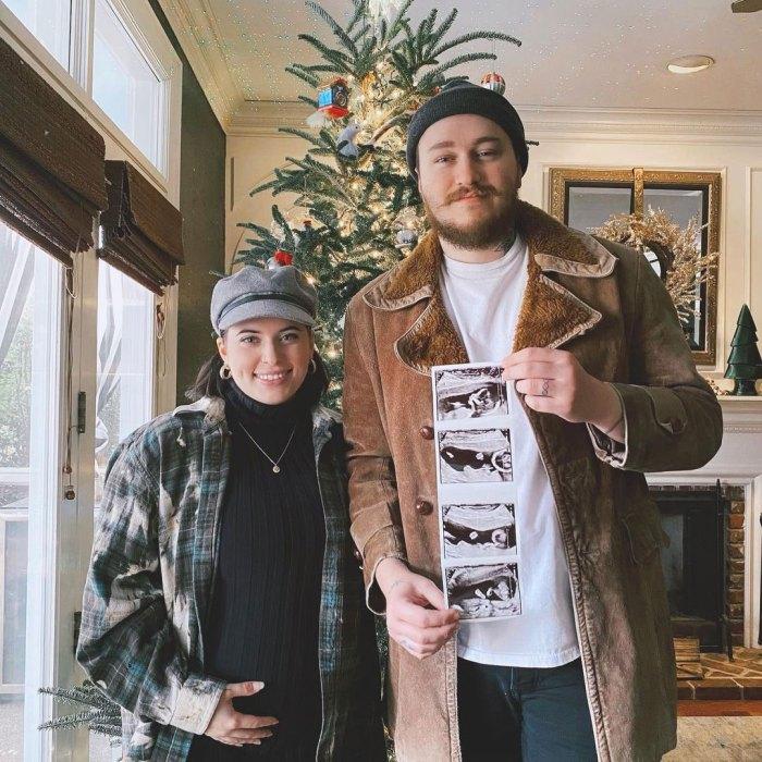 Braison Cyrus espera su primer hijo con su esposa embarazada Stella McBride