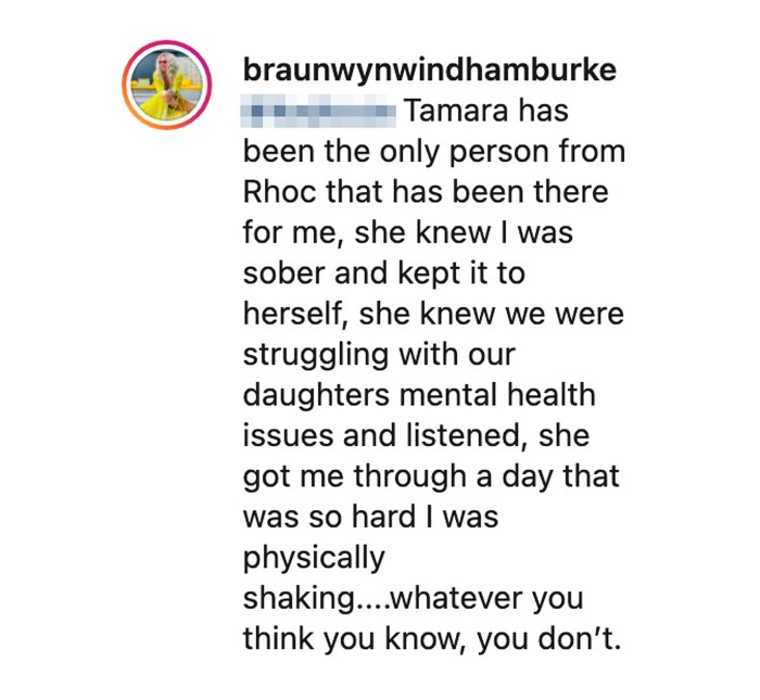 Braunwyn Windham-Burke Reveals Only Person From RHOC Whos Supported Her