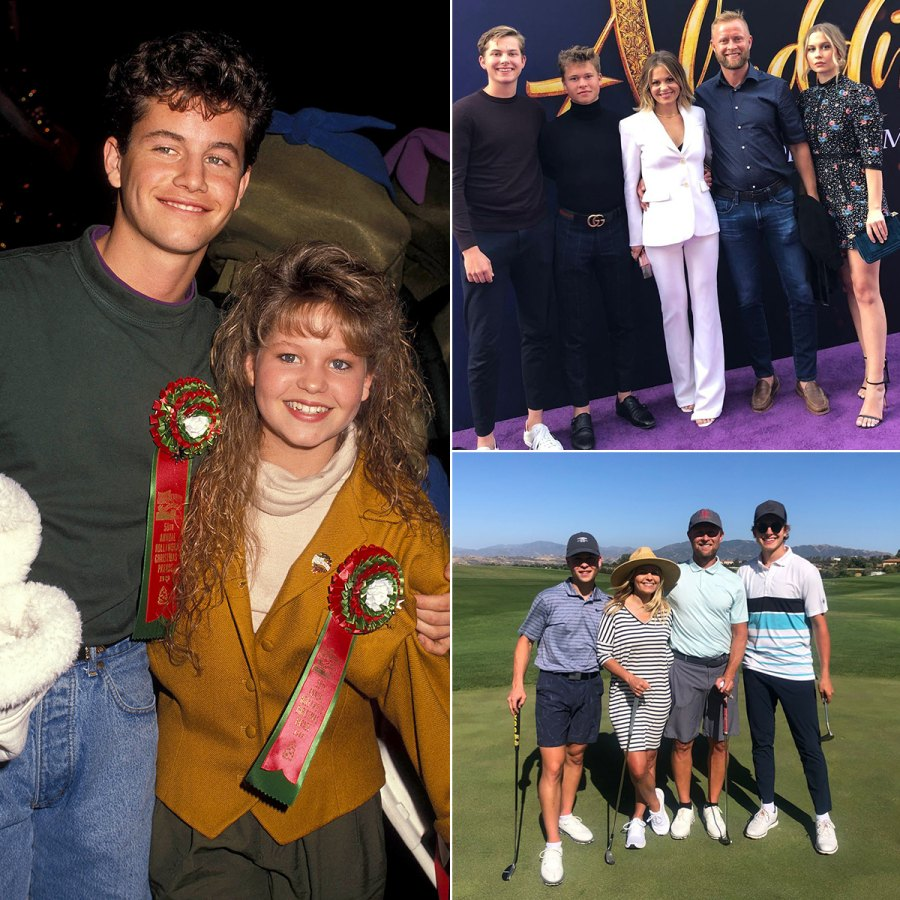 Candace Cameron Bure and Brother Kirk Cameron's Family Album Through the Years