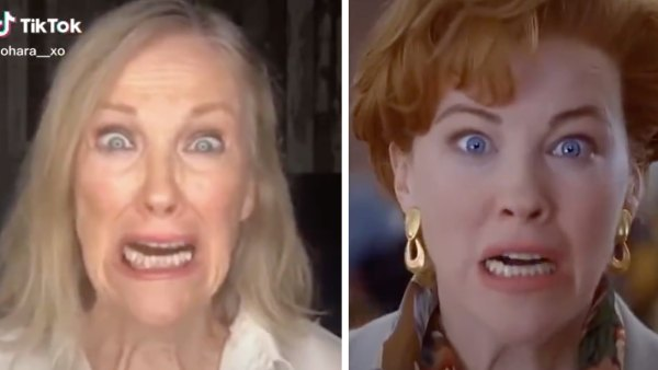 Catherine O'Hara Recreates Iconic Home Alone Scene in Viral Video