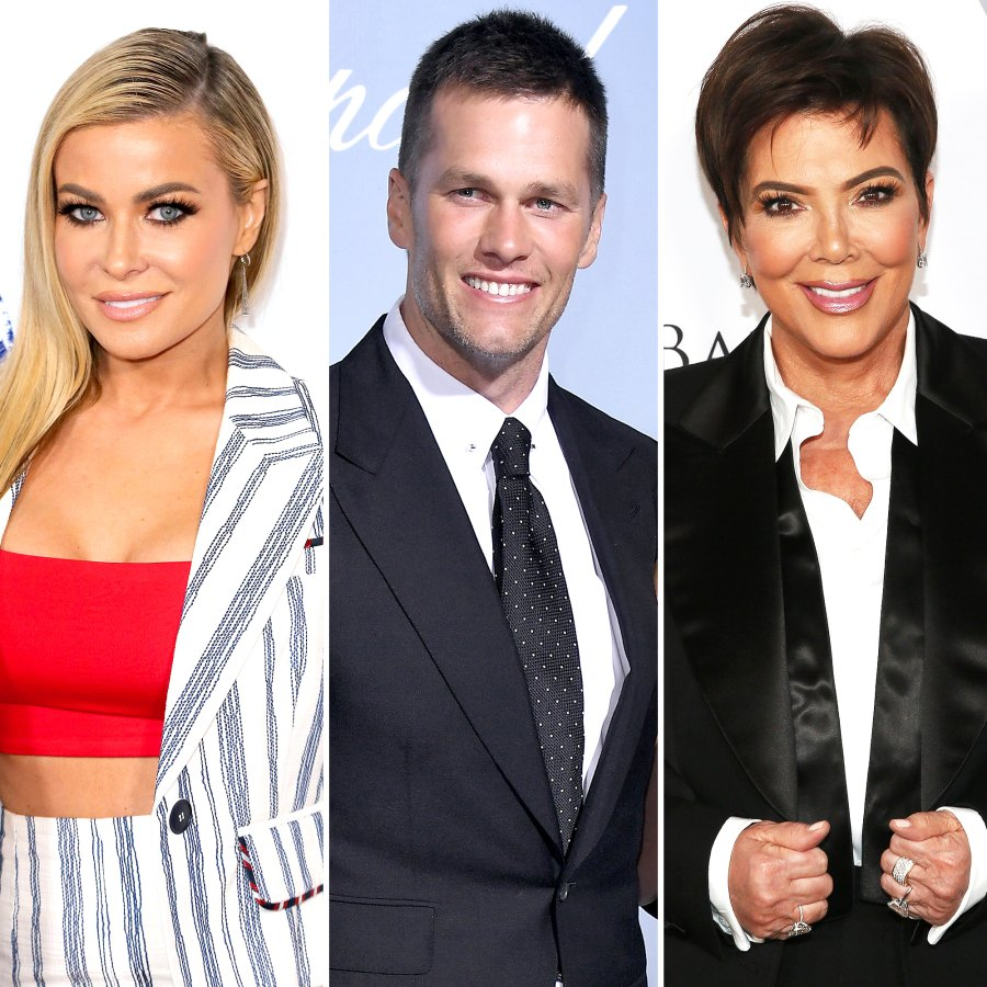 Celebrities Who Shared TMI in 2020 Carmen Electra Tom Brady Kris Jenner and More