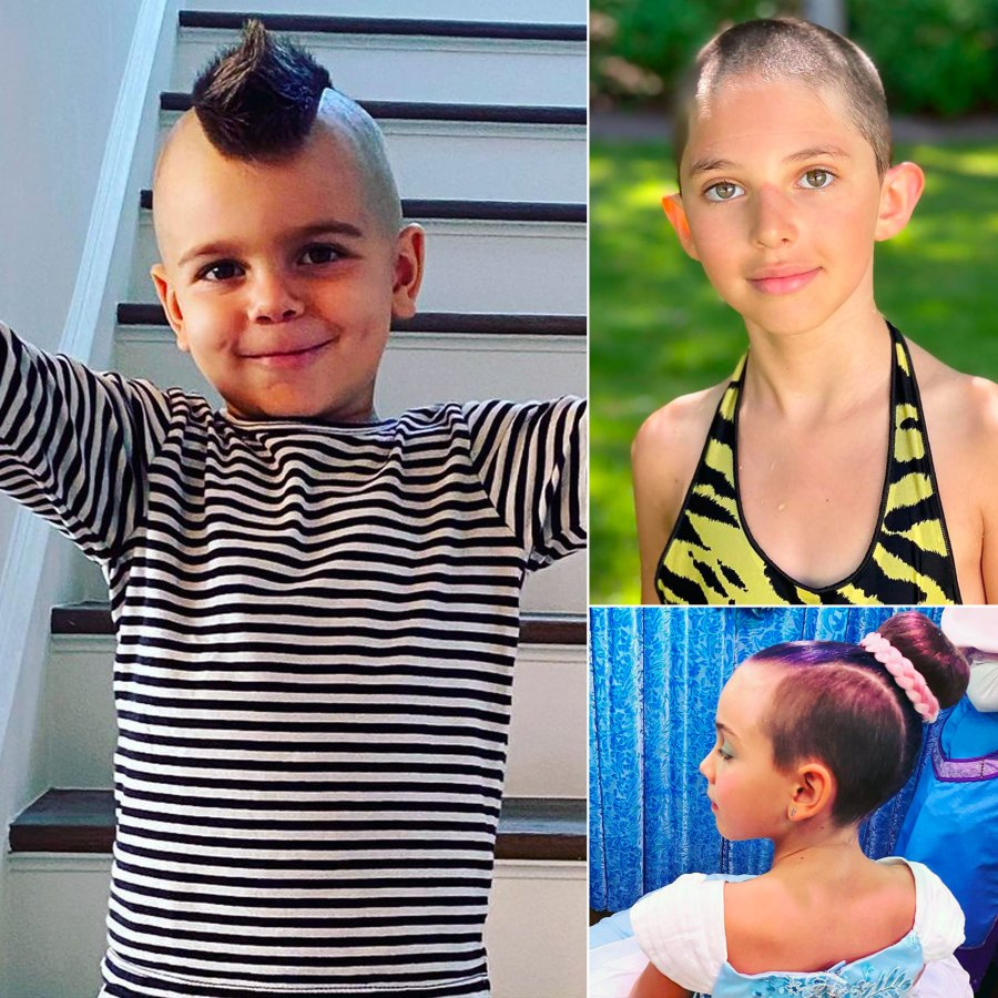 Celebrity Kids' Biggest Hair Changes of the Year