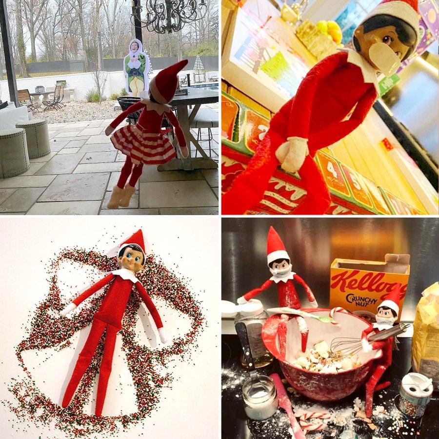 Celebrity Parents Are Making Santa Claus Proud With Creative Elf Shelf Setups