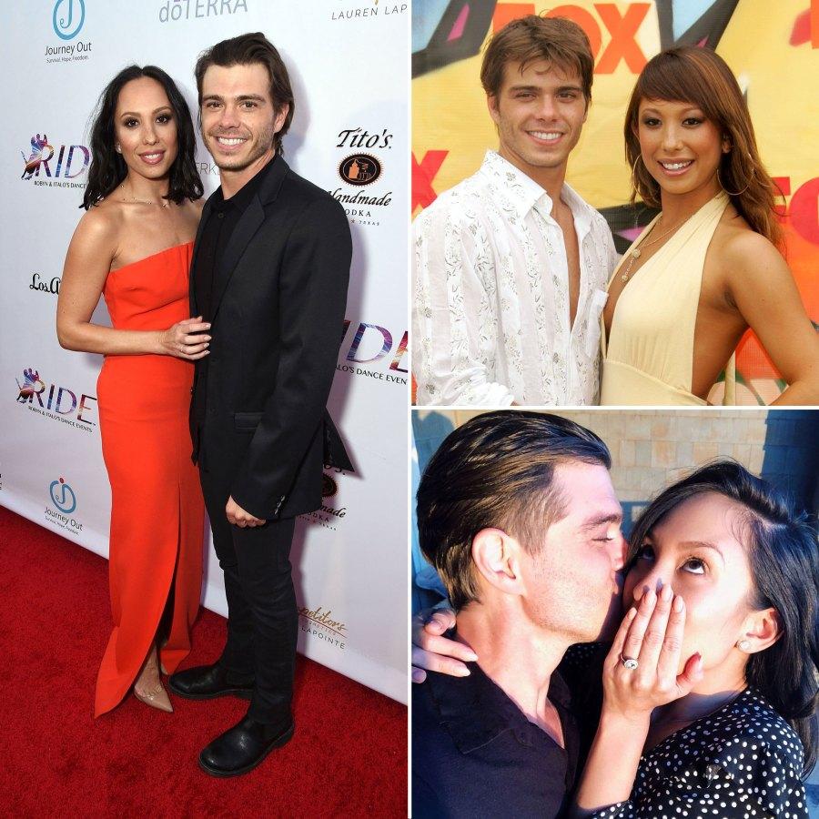 Cheryl Burke and Matthew Lawrence Relationship Timeline