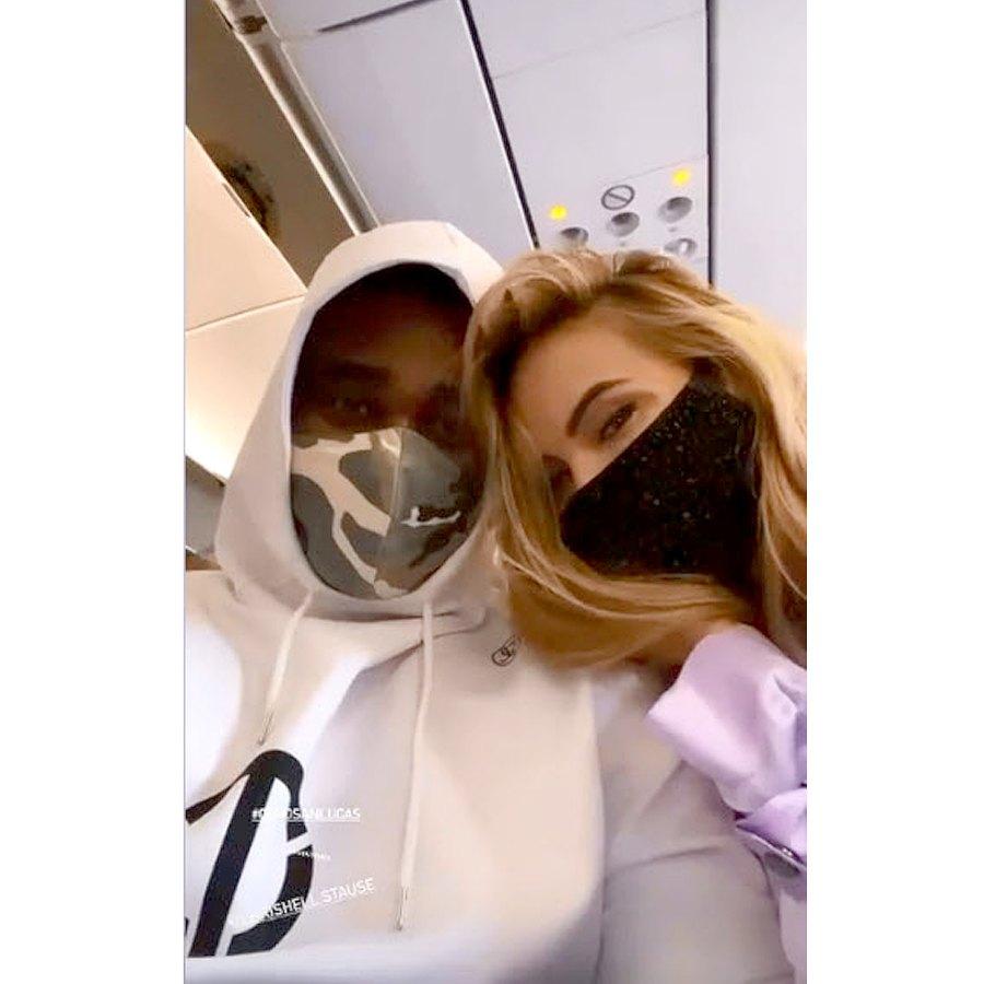 Chrishell Stause Keo Motsepe Vacation With Gleb His New Girlfriend