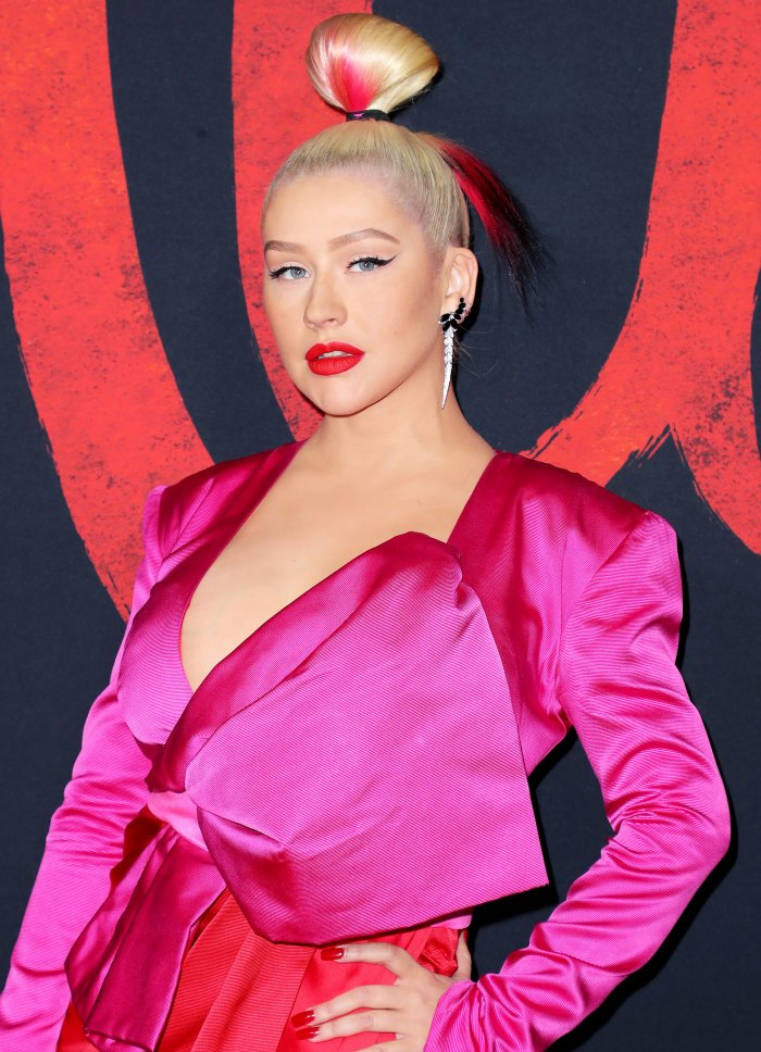 Christina Aguilera Celebrates Her 40th Birthday in Style