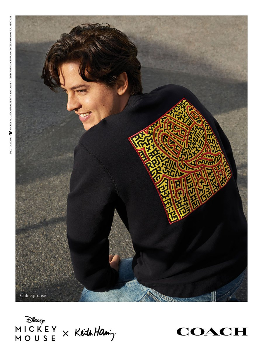Kaia Gerber, Cole Sprouse and More Stars in Coach's Mickey Mouse x Keith Haring Campaign