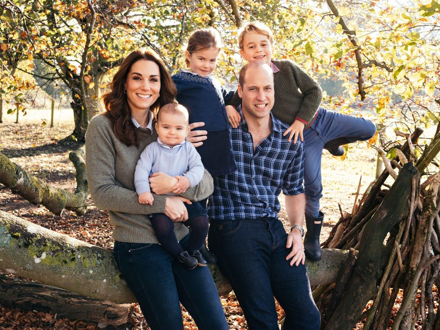 December 2018 Princess Charlotte Prince William Prince George Duchess Kate Catherine Prince Louis Duke and Duchess of Cambridge Royal Family Fashion Moments