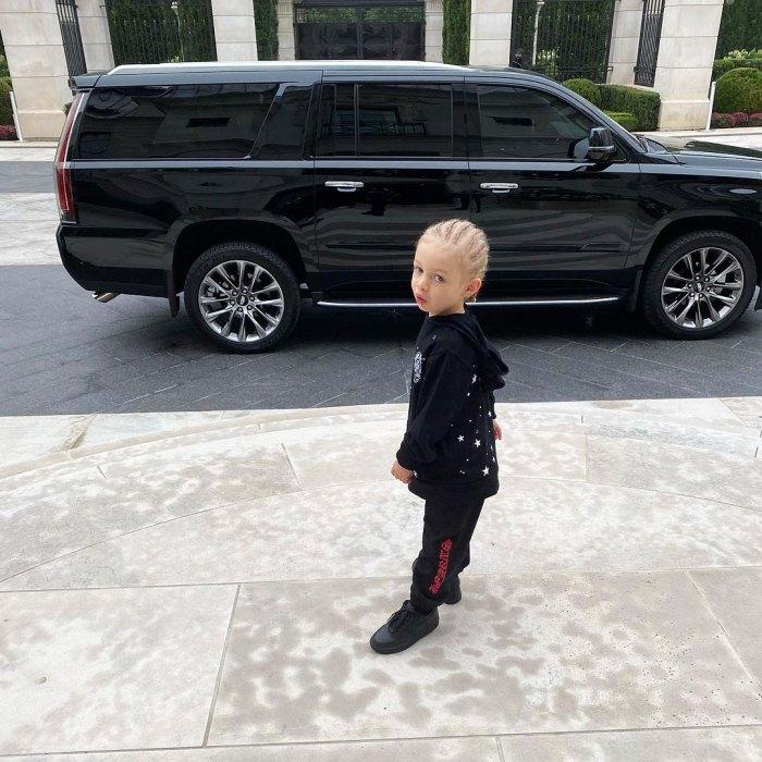 Drake y Sophie Brussaux son felizmente coparentales de su hijo Adonis