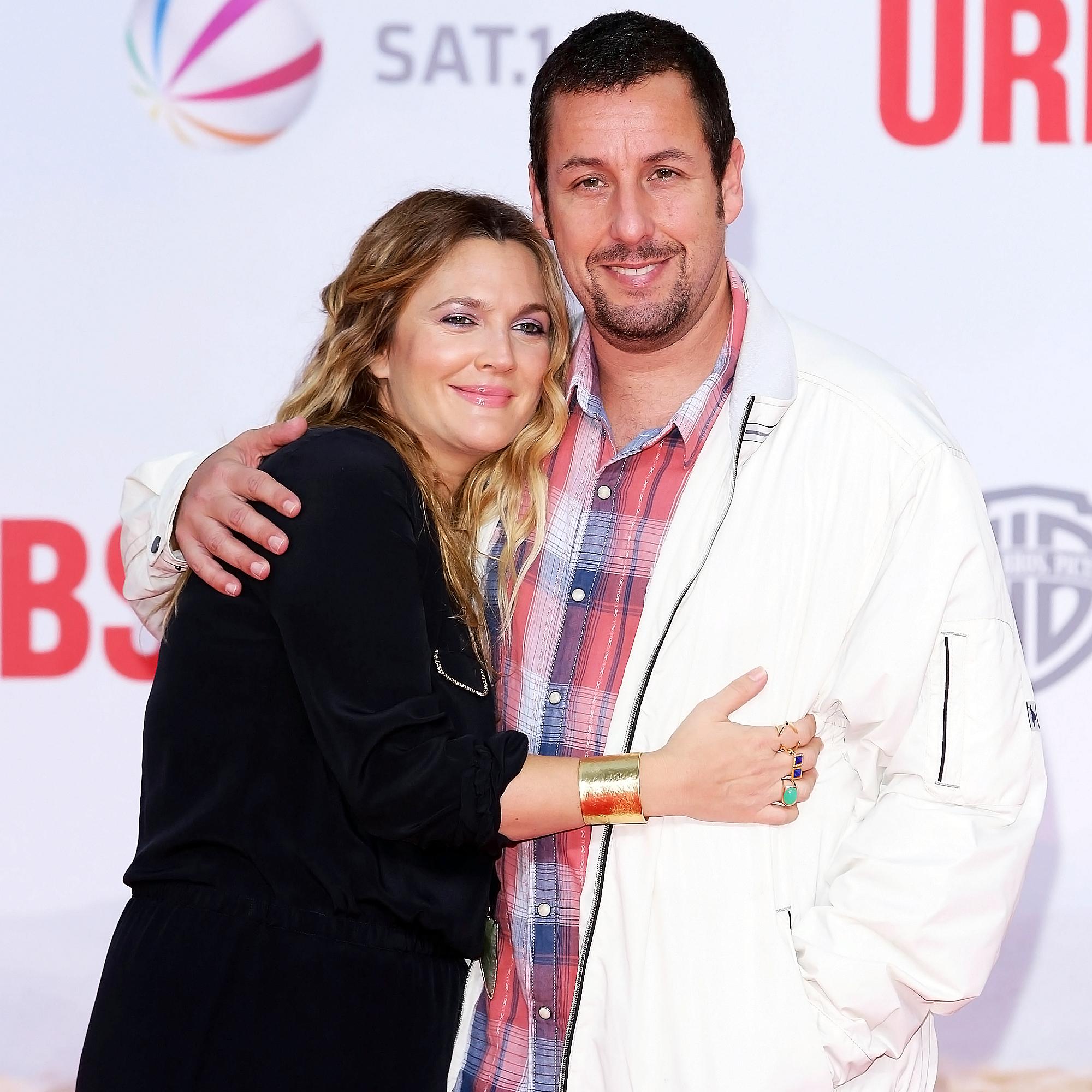 Drew Barrymore Adam Sandler Tease Possible 4th Movie Together