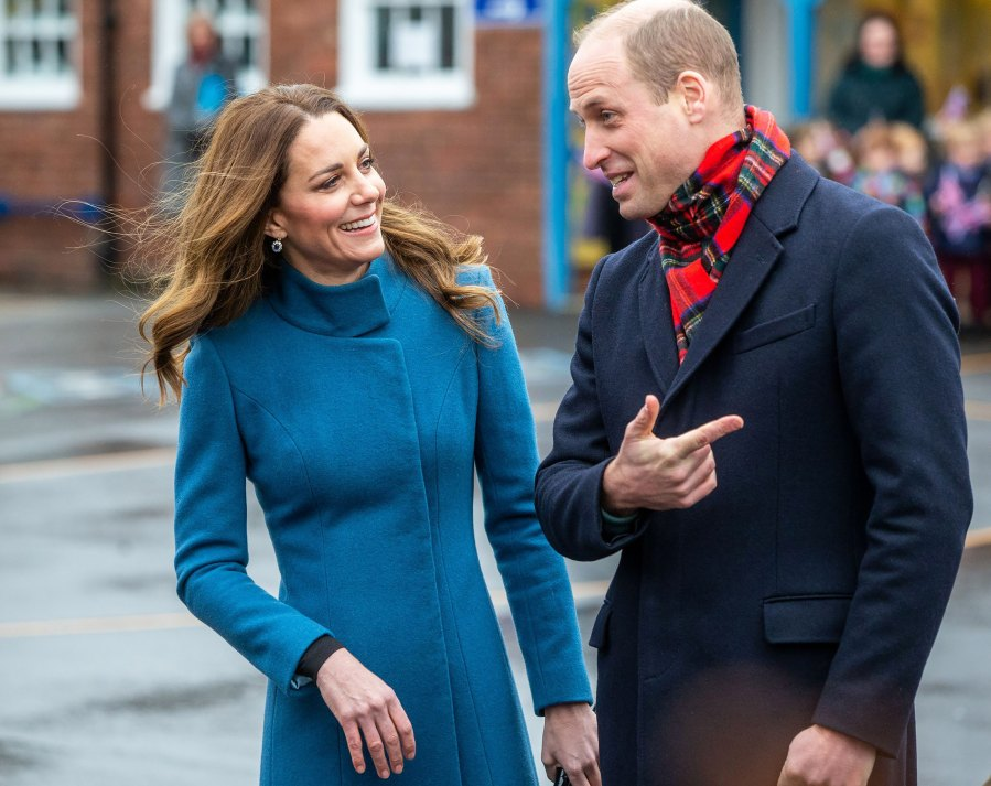 William, Kate Celebrate Essential Workers on 3-Day U.K. Tour: See Pics