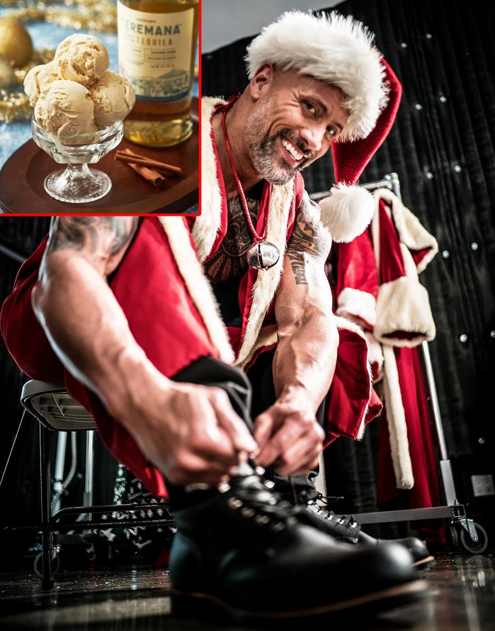 Dwayne The Rock Johnson Launches Holiday Ice Cream Spiked With His Teremana Tequila