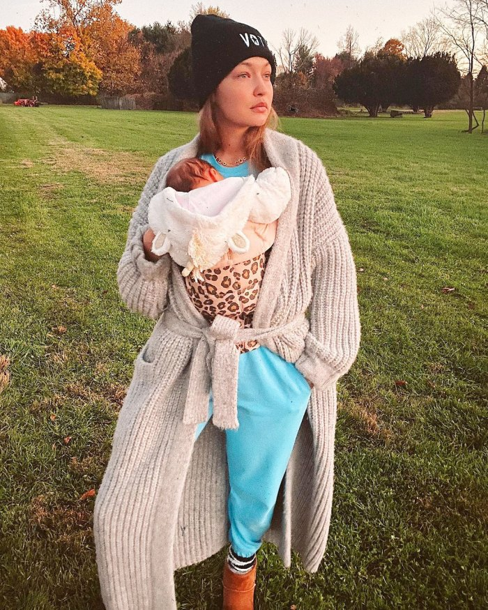 Gigi Hadid regresa al trabajo 2 meses después de dar a luz