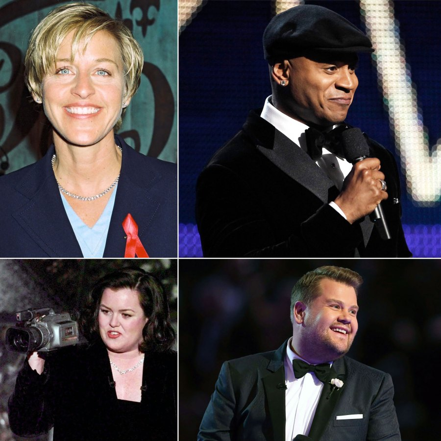 Grammys Hosts Through the Years: Ellen DeGeneres, LL Cool J and More
