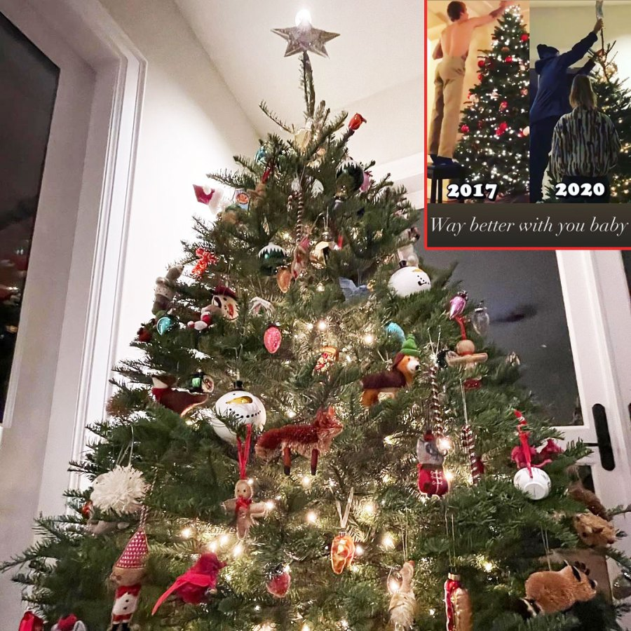Hailey and Justin Bieber Celebrity Holiday Decorations Of 2020