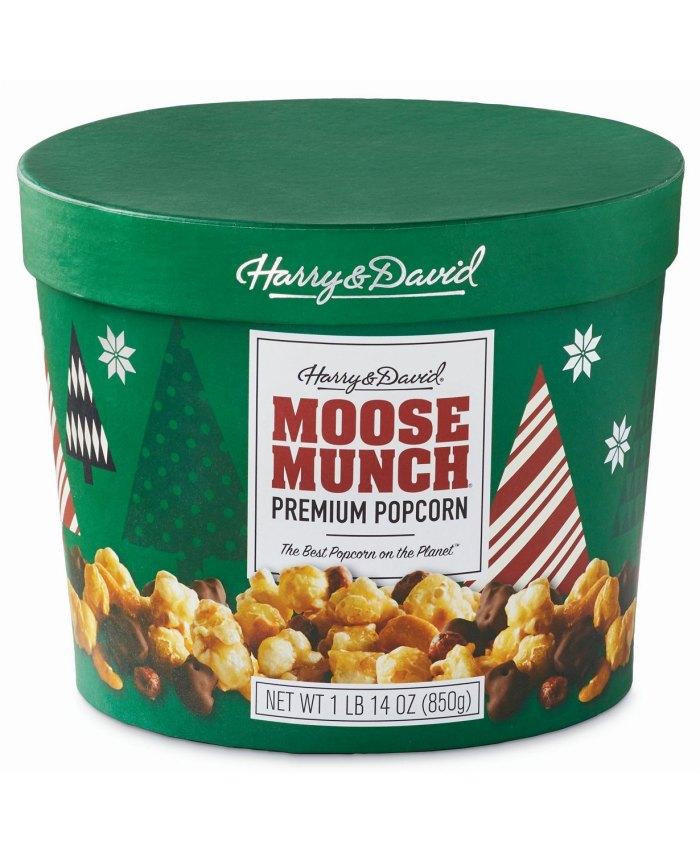Harry & David Moose Munch Chocolate con leche, chocolate amargo y tambor de caramelo